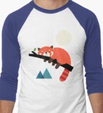 Nickerchen-Zeit Baseballshirt mit 3/4-Arm