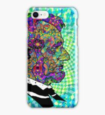 Psychedelic LSD Trip Abraham Lincoln iPhone Case/Skin