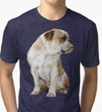 Bulldog Tri-blend T-Shirt