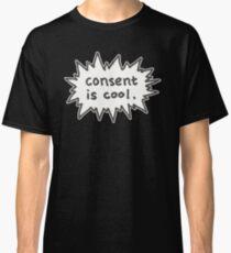 Consent is Cool Comic Flash Classic T-Shirt
