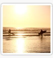 Golden Surfers Sticker
