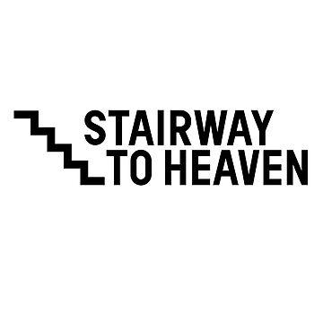 Stairway To Heaven Sexy Joke Funny by Sid3walkArt