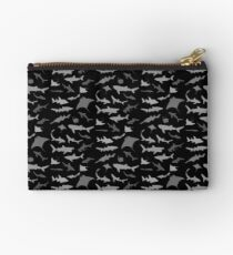 Sharks and Rays: Dark version! Studio Pouch