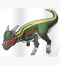 Stygimoloch/Pachycephalosaurus Poster
