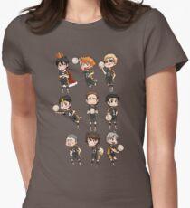 Haikyuu!! / Karasuno Chibs Tee Women's Fitted T-Shirt