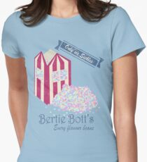 Vintage Bertie Bott's Every flavour beans Womens Fitted T-Shirt