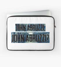 John Abruzzi Laptop Sleeve