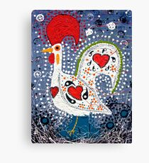 Portuguese Rooster 4 Canvas Print