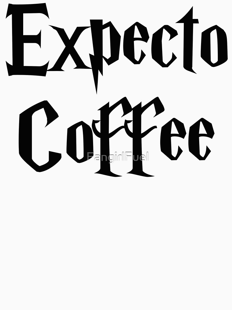 Expecto Coffee - I Await Coffee by FangirlFuel