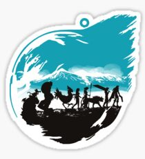 FELLOWSHIP OF THE FANTASY Sticker