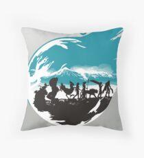 FELLOWSHIP OF THE FANTASY Throw Pillow