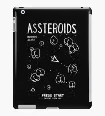 Assteroids - Retro Gaming Parody iPad Case/Skin