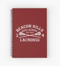 Beacon Hills Lacrosse Spiral Notebook