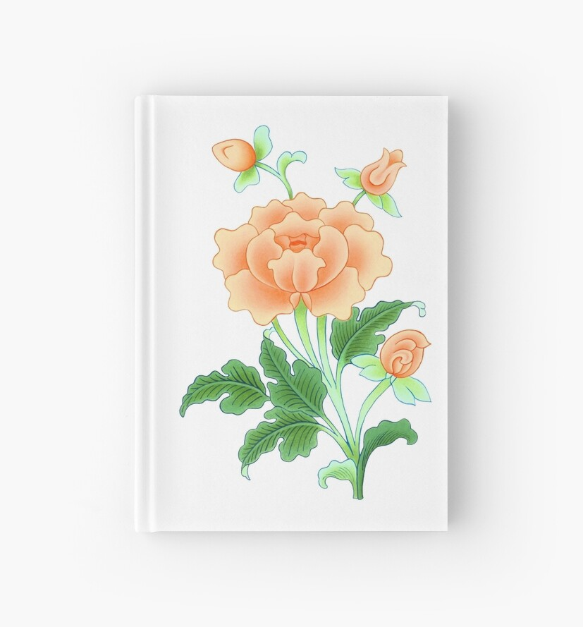 Cuadernos De Tapa Dura Pintura De Flor De Loto Budista De