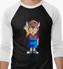 dr slump arale Men's Baseball ¾ T-Shirt