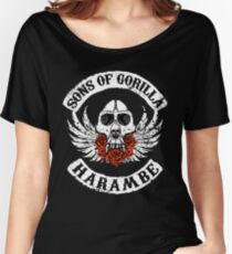 Sons of Gorilla - HARAMBE Women's Relaxed Fit T-Shirt