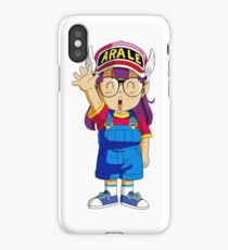 dr slump arale iPhone Case/Skin