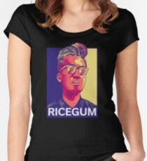 RiceGum Shirt Women's Fitted Scoop T-Shirt
