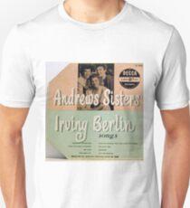 "Andrews Sisters sing Irving Berlin 10"" lp Cover T-Shirt"