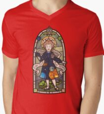 Our Lady of Education V-Neck T-Shirt