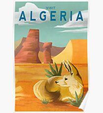 Algeria Travel Poster Poster