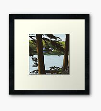 Highland Deck View Framed Print