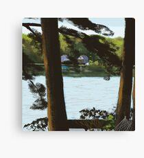 Highland Deck View Canvas Print