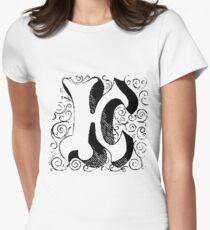 Block Alphabet Letter K T-Shirt