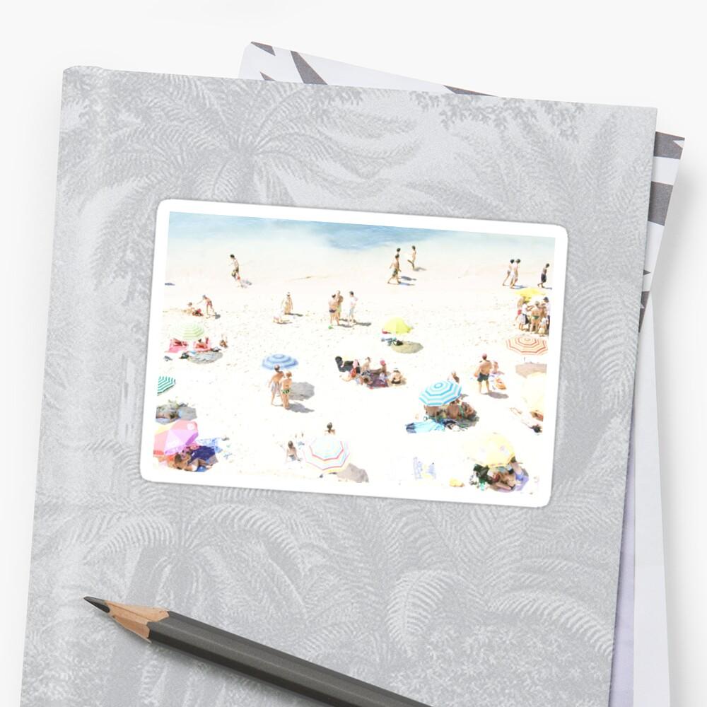 Beach - happy days Sticker