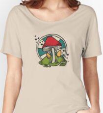 Mushroom Women's Relaxed Fit T-Shirt