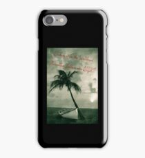 Kicking it in the Caribbean! iPhone Case/Skin