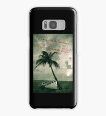 Kicking it in the Caribbean! Samsung Galaxy Case/Skin