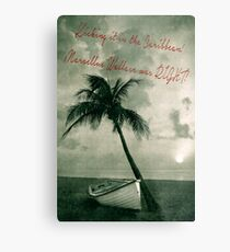 Kicking it in the Caribbean! Metal Print