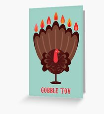 Happy Thanksgivukkah! Greeting Card