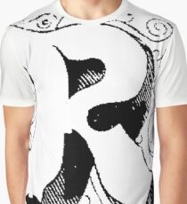 Block Alphabet Letter R Graphic T-Shirt