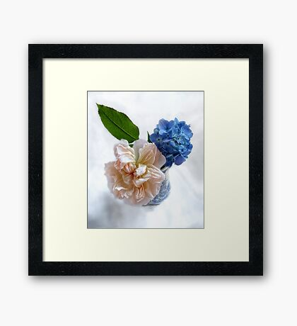 Compliments Framed Print