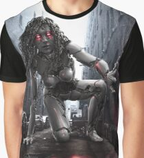 Cyberpunk Photography 044 Graphic T-Shirt
