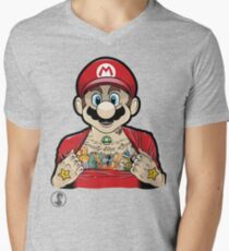 Mario's Got Ink Men's V-Neck T-Shirt