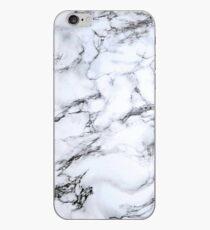 Vinilo o funda para iPhone mármol blanco y negro