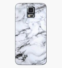 black and white marble Case/Skin for Samsung Galaxy