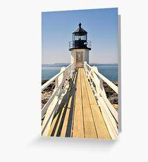 Marshall Point Lighthouse II Greeting Card