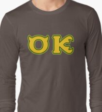 Oozma Kappa - OK  Long Sleeve T-Shirt