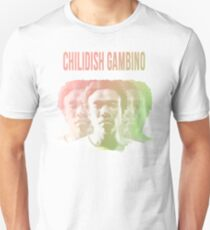 Kindische Gambino Phasen Slim Fit T-Shirt