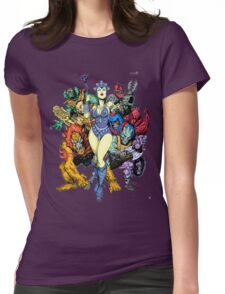 The bad guys of Eternia Womens Fitted T-Shirt