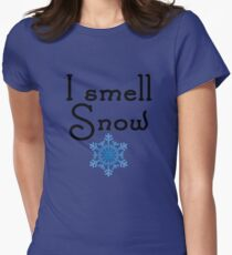 Gilmore Girls - I smell Snow Women's Fitted T-Shirt