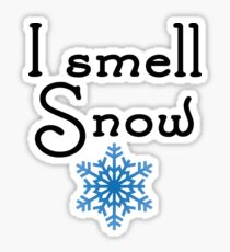 Gilmore Girls - I smell Snow Sticker