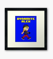 Dynamite Alex Framed Print
