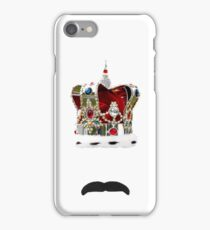 The Moustache Queen iPhone Case/Skin