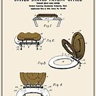 Toilet Seat and Cover Patent - Colour by FinlayMcNevin