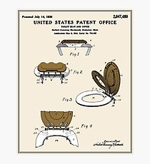 Toilet Seat and Cover Patent - Colour Photographic Print